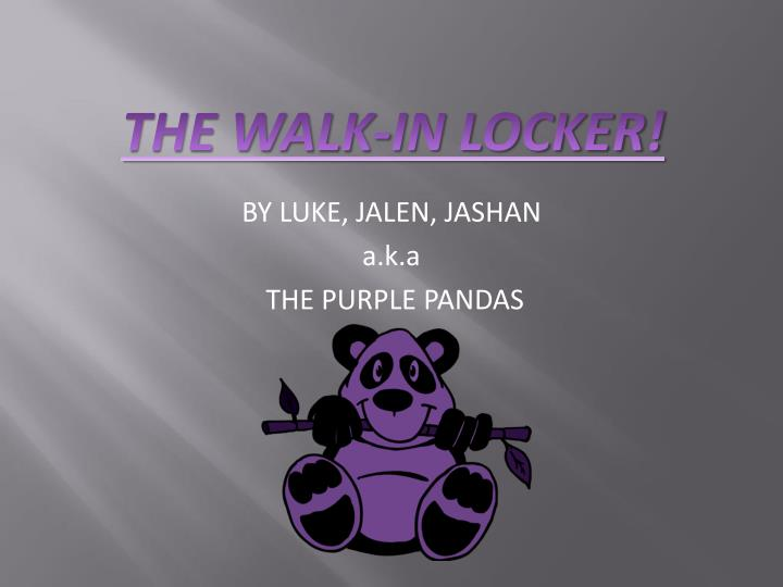by luke jalen jashan a k a the purple pandas n.