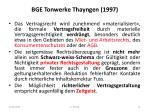 bge tonwerke thayngen 1997