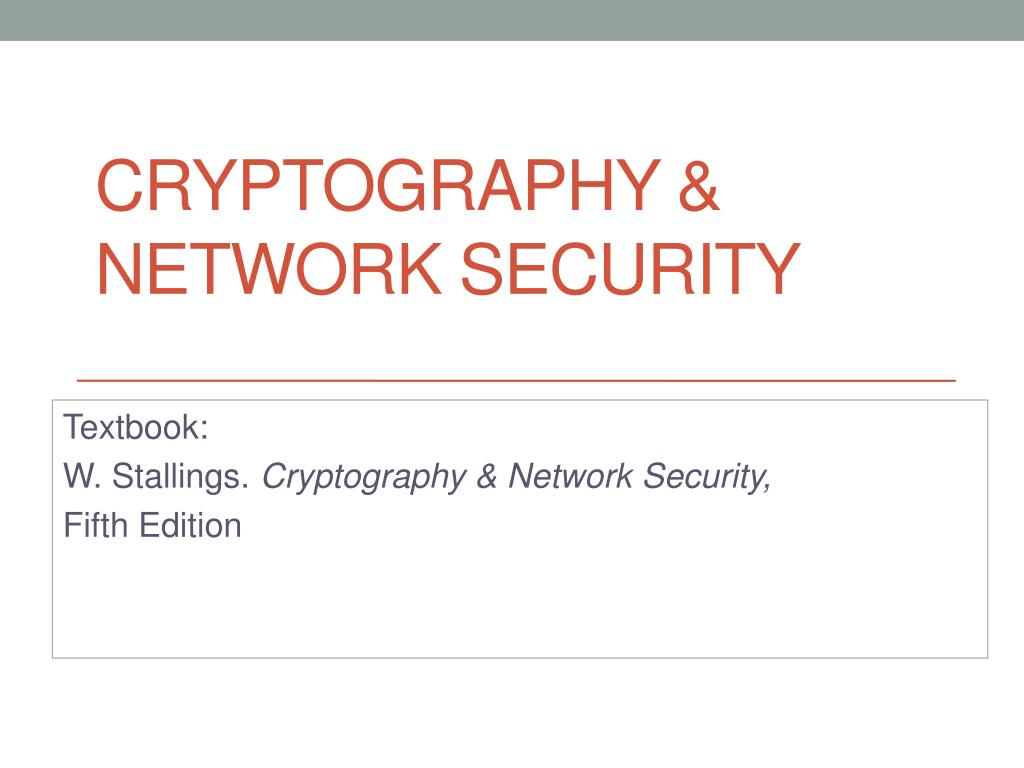 Ppt Cryptography Network Security Powerpoint Presentation Free Download Id 2247450