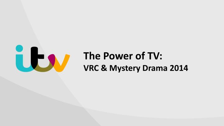 the power of tv vrc mystery drama 2014 n.