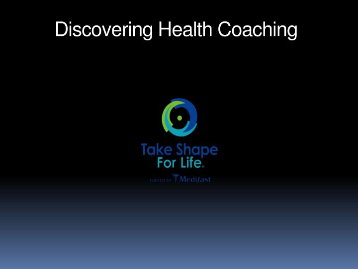 discovering health coaching n.