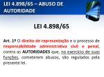 lei 4 898 65 abuso de autoridade1