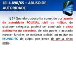 lei 4 898 65 abuso de autoridade10