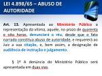 lei 4 898 65 abuso de autoridade14