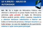 lei 4 898 65 abuso de autoridade17