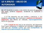 lei 4 898 65 abuso de autoridade18
