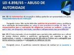 lei 4 898 65 abuso de autoridade19