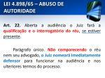 lei 4 898 65 abuso de autoridade21