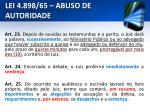 lei 4 898 65 abuso de autoridade22