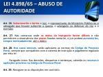 lei 4 898 65 abuso de autoridade23