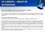 lei 4 898 65 abuso de autoridade25