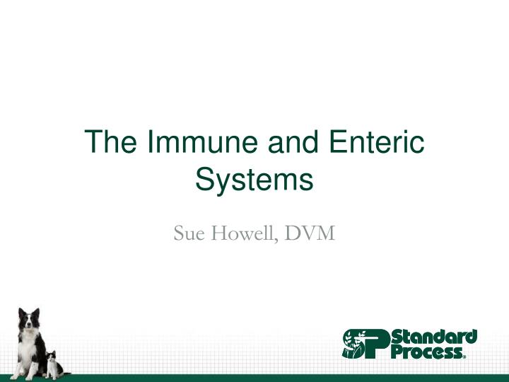 the immune and enteric systems n.