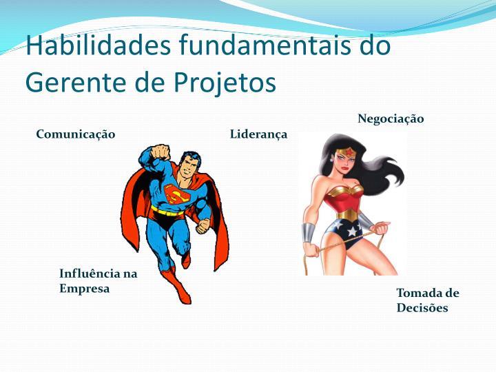 Habilidades fundamentais do Gerente de Projetos