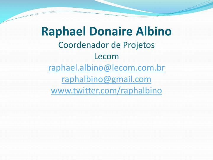 Raphael Donaire Albino