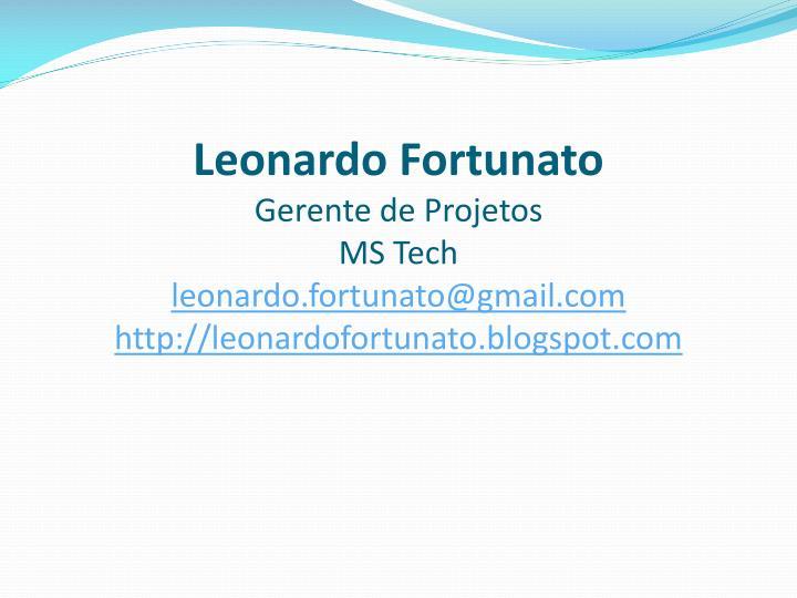 Leonardo Fortunato