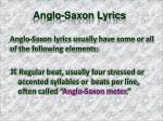 anglo saxon lyrics2