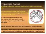 topolog a social