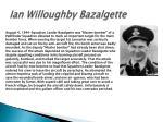 ian willoughby bazalgette