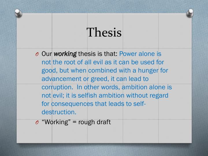 two thesis A thesis statement focuses your ideas into one or two sentences it should present the topic of your paper and also make a comment about your position in relation to the topic your thesis statement should tell your reader what the paper is about and also help guide your writing and keep your argument focused.