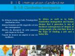 ii 1 b immigration clandestine