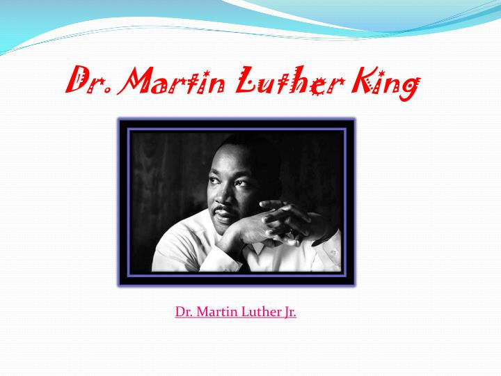 dr martin luther king n.