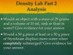 density lab part 2 analysis1