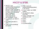 haccp sfbb