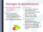 reinigen desinfecteren1