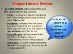 images literary devices