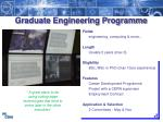 graduate engineering programme