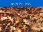 chemical change13