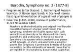 borodin symphony no 2 1877 8