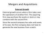 mergers and acquisitions4