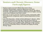 seniors and chronic diseases some facts and figures