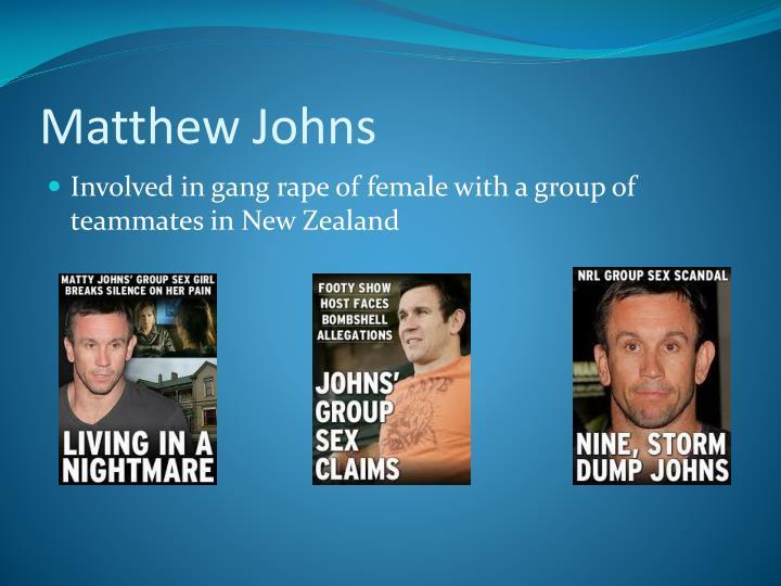 Matthew Johns