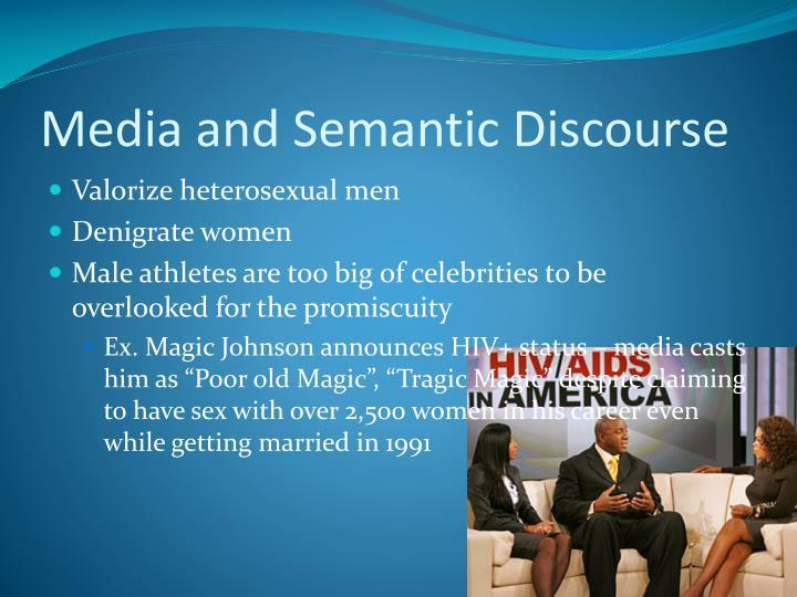 Media and Semantic Discourse