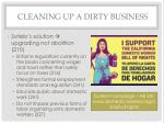 cleaning up a dirty business
