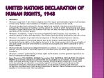 united nations declaration of human rights 1948
