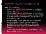 partner read stanzas 9 13
