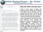 better buying power dr carter published september 14 2010