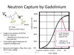 neutron capture by gadolinium