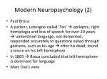 modern neuropsychology 2