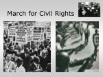 march for civil rights