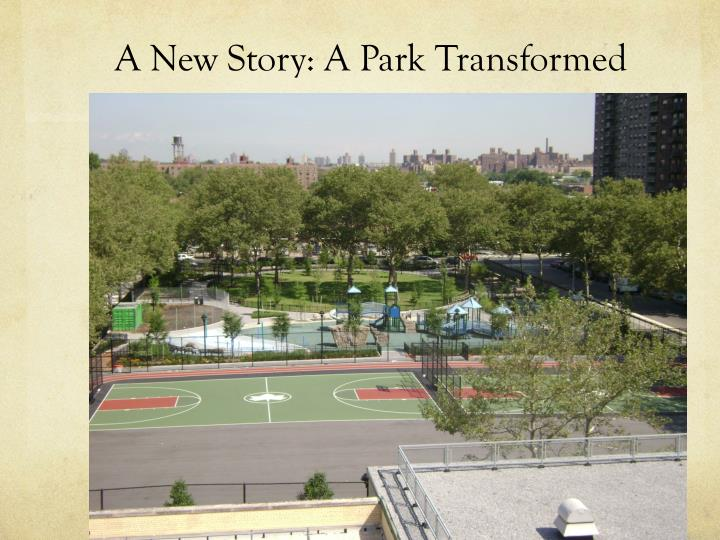 A New Story: A Park Transformed