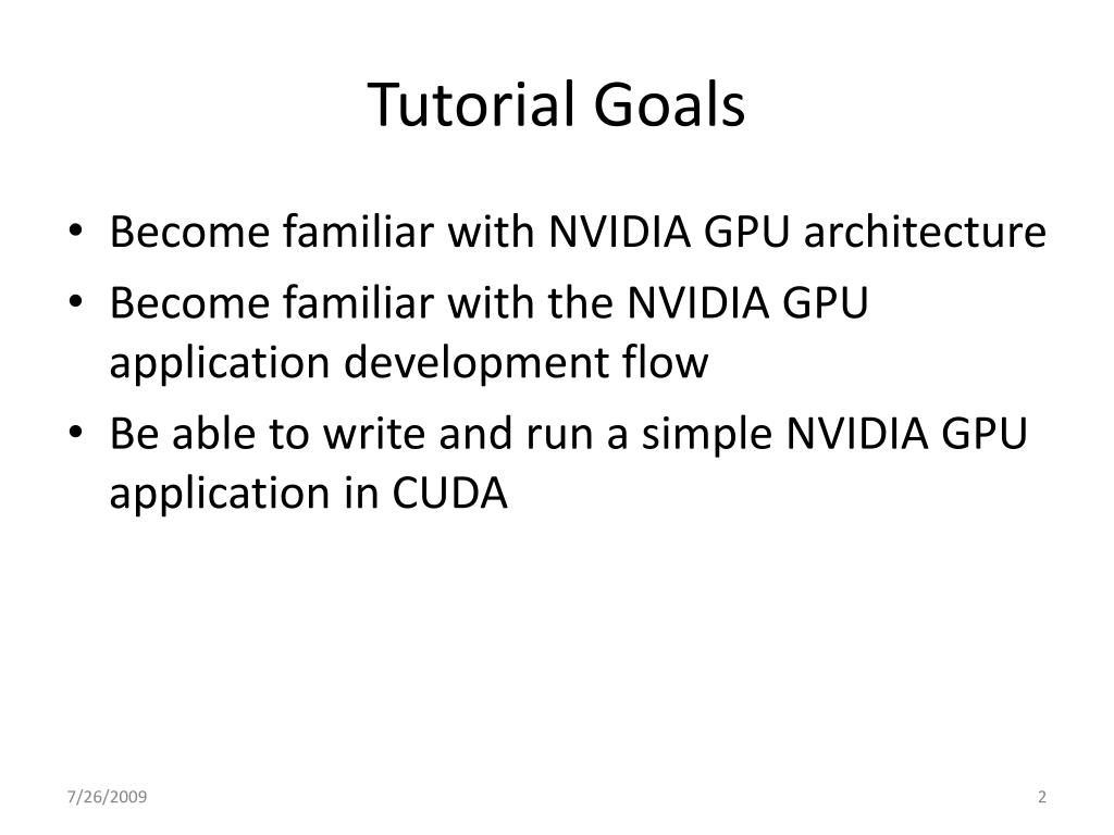 PPT - Introduction to GPU Programming PowerPoint Presentation - ID