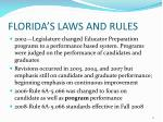 florida s laws and rules