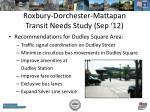 roxbury dorchester mattapan transit needs study sep 12