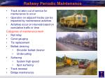 railway periodic maintenance