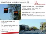 hawk pedestrian hybrid beacon in dc