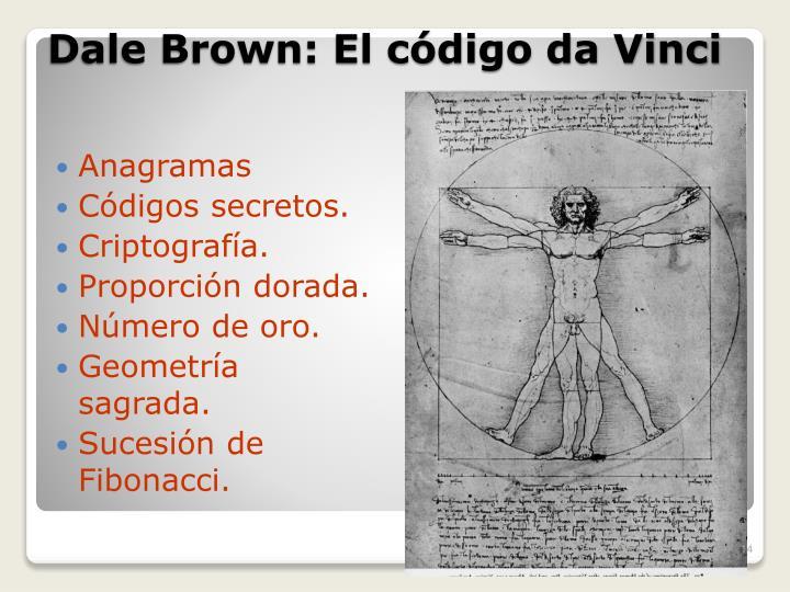 Dale Brown: El código da Vinci